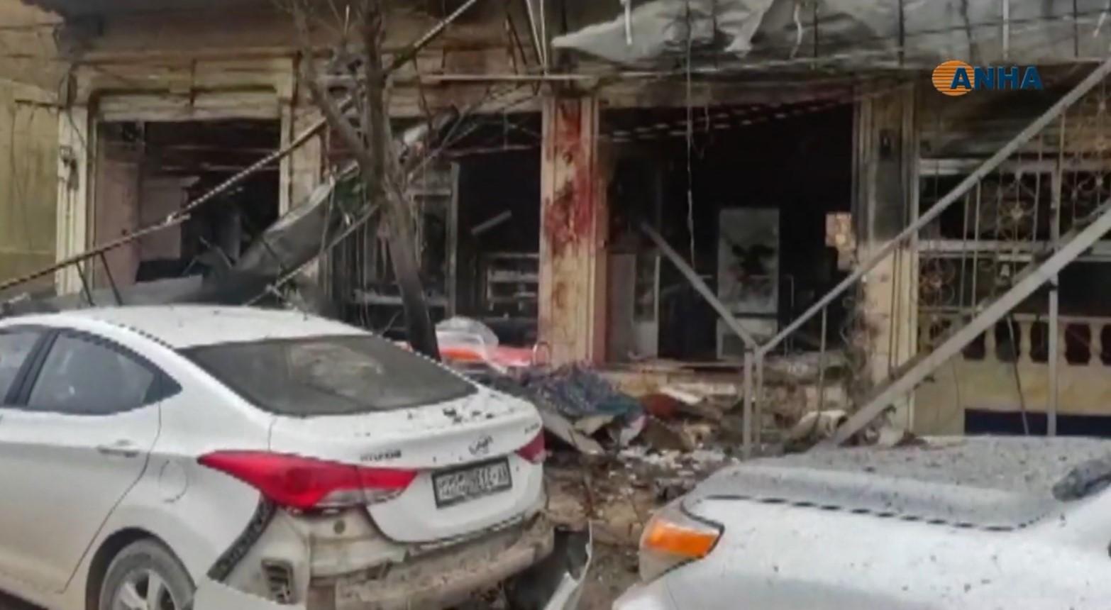 Atentado na Síria