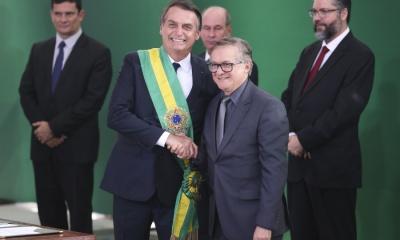 Jair Bolsonaro e Ricardo Vélez Rodríguez