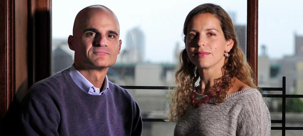 Mark Gerson e Erica Gerson