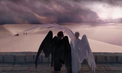 Anjo e demônio em Good Omens