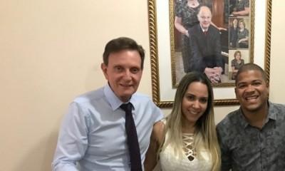 Marcelo Crivella, Mulher Melão e o DJ Timotinho
