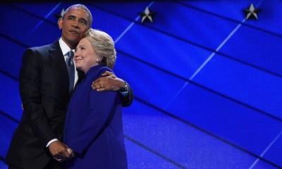 Obama e Hillary Clinton