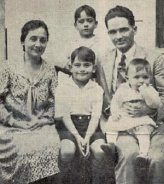 Russel Morse e família