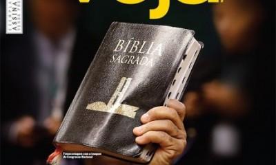 Capa da Revista Veja - Bancada Evangélica