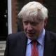 Boris Johnson na região central de Londres