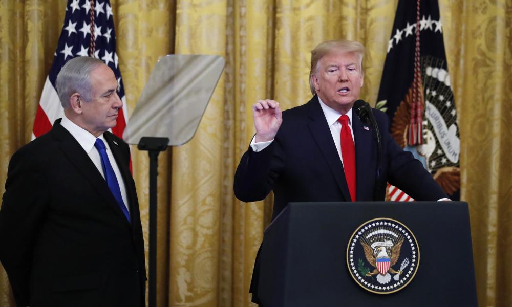 Plano de paz envolve solução de dois estados para Israel e Palestina