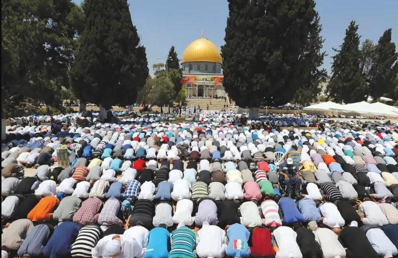Jerusalém será capital do califado mundial, diz líder islâmico no Monte do Templo