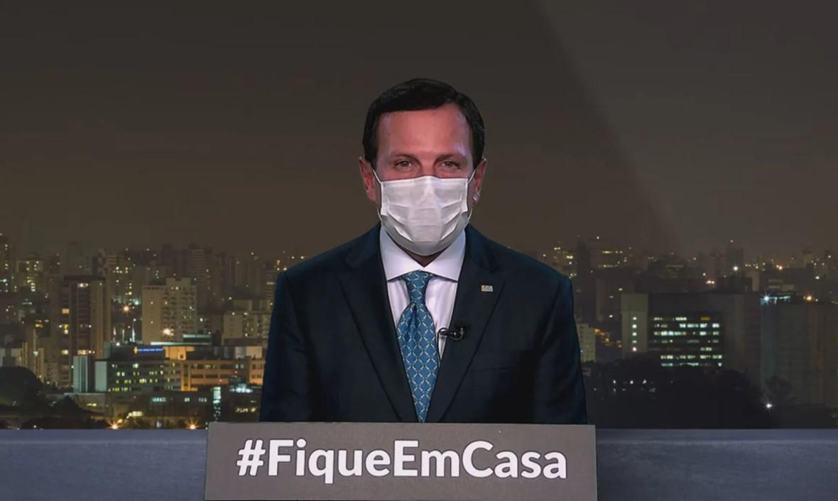 "Doria promete combater ""vírus Bolsonaro"""