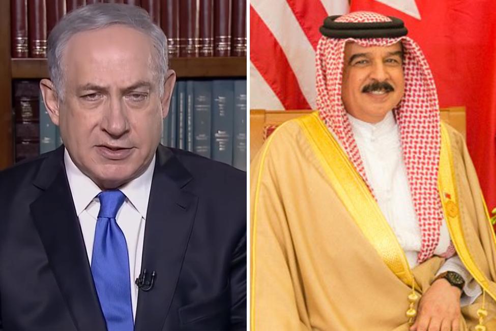 Benjamin Netanyahu e Hamad bin Isa Al Khalifa