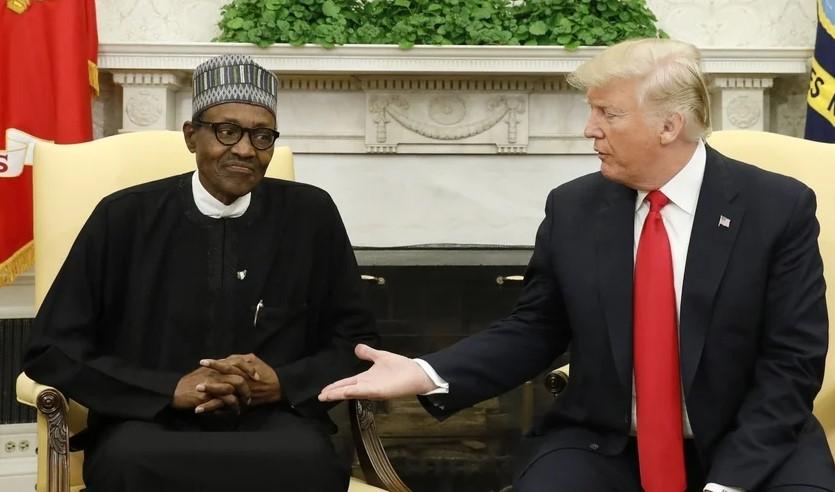 Muhammadu Buhari e Donald Trump