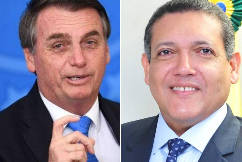 Jair Bolsonaro e Kassio Nunes