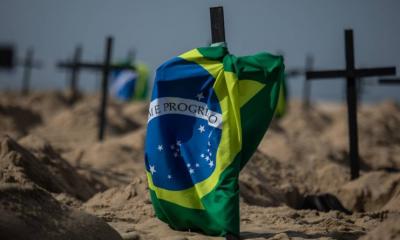 Brasil relata 37.614 novos casos de coronavírus, 691 mortes na Quinta-feira
