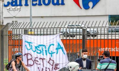 Estado processa unidade do Carrefour em US $ 38 milhões por agressão à morte de negro