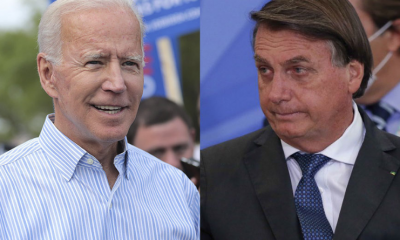 Bolsonaro diz que quer acordo de livre comércio com os EUA em carta a Biden